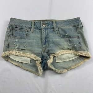 American eagle shortie stretch shorts